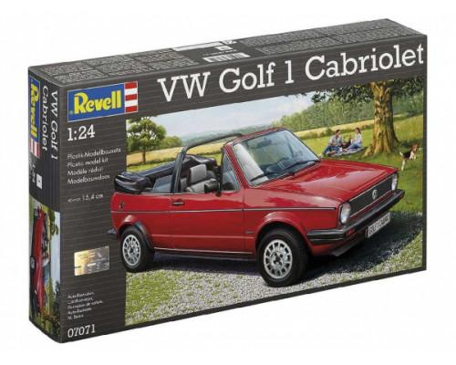 Автомобиль VW Golf 1 кабриолет