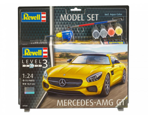 Набор автомобиль Mercedes AMG GT