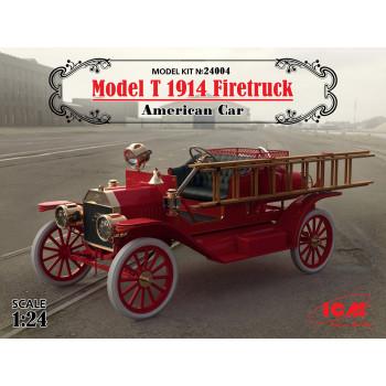 Model T 1914 Firetruck, Американский пожарный автомобиль сборная модель