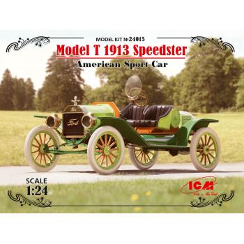 """Model T 1913 """"Спидстер"""", Американский спортивный автомобиль сборная модель"""