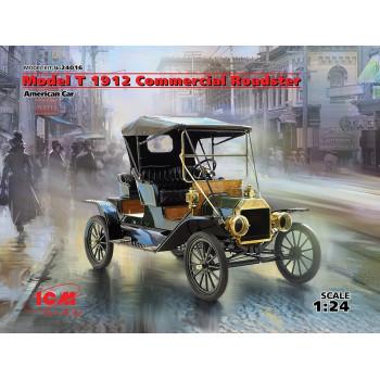 Model T 1912 Commercial Roadster, Американский автомобиль сборная модель