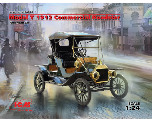 Model T 1912 Commercial Roadster, Американский автомобиль
