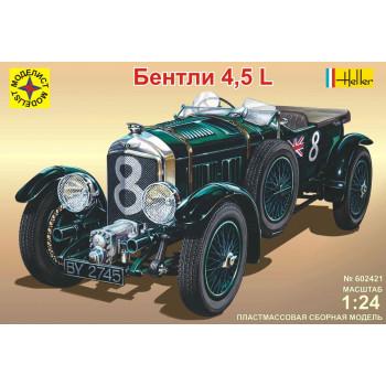 Автомобиль Бентли 4,5L (1:24)
