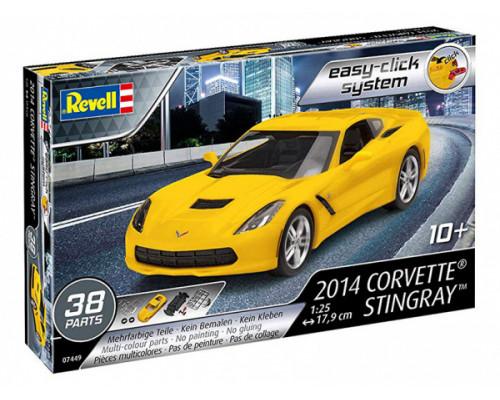 Спортивный автомобиль Corvette Stingray 2014