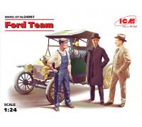 Команда Форда, набор фигур и автомобиль Model T 1913 Roadster