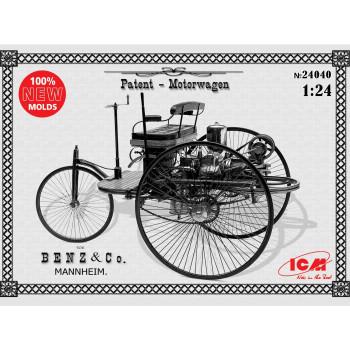 Автомобиль Бенца 1886 г. сборная модель