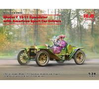 Model T 1913 Speedster с американскими автоспортсменами