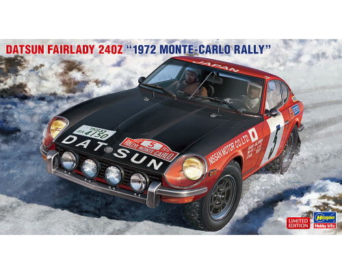 H20374 Hasegawa Автомобиль Datsun Fairlady 240Z 1972 Rally Monte-Carlo (1:24)