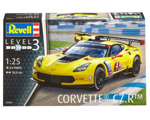 Спортивный автомобиль Corvette C7.R