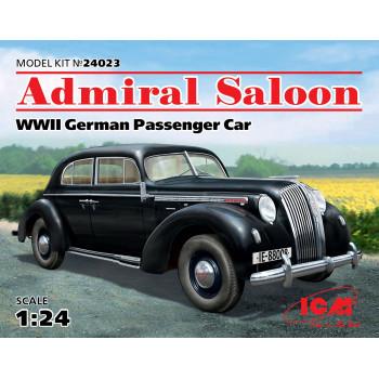 Admiral Седан, Германский пассажирский автомобиль 2 Мировой войны сборная модель