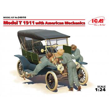 Model T 1911 с американскими механиками сборная модель