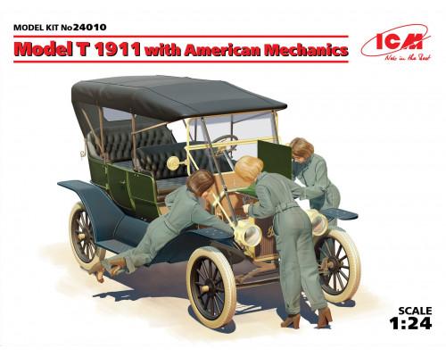 Model T 1911 с американскими механиками