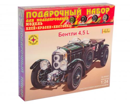 Автомобиль Bentley 4,5L (1:24)