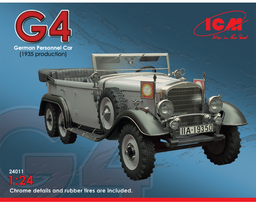 Typ G4 (производства 1939), автомобиль германского руководства