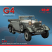 Typ G4 (производства 1939), автомобиль германского руководства сборная модель