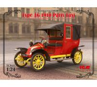 Парижское такси модели AG 1910 г.
