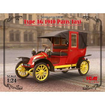 Парижское такси модели AG 1910 г. сборная модель