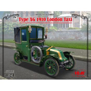 Лондонское такси модели AG 1910 г. сборная модель
