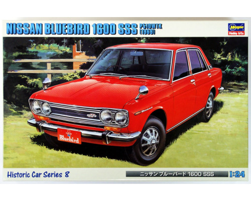 Автомобиль The Nissan Bluebird 1600 SSS 1969