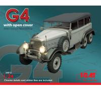 Typ G4 с раскрытым тентом, Германский пассажирский автомобиль ІІ МВ