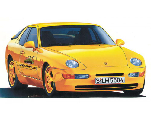 H20317 Автомобиль Porsche 968 СS, 1/24