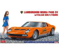 H20423 Автомобиль Lamborghini Miura P400 SV w/Italian Girls Figure, 1/24