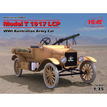 Model T 1917 LCP, Автомобиль армии Австралии І МВ сборная модель
