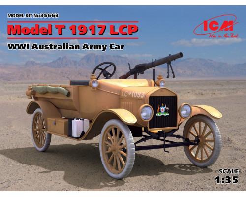 35663 ICM Model T 1917 LCP, Автомобиль армии Австралии І МВ, 1/35