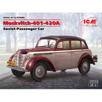 Москвич-401-420А, Советский легковой автомобиль сборная модель