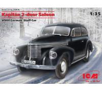 Kapitan Седан двухдверный, Германский автомобиль ІІ МВ