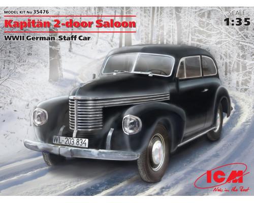 35476 ICM Kapitan Седан двухдверный, Германский автомобиль ІІ МВ, 1/35