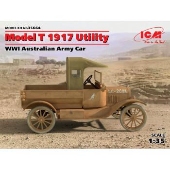 Model T 1917 Utility, Армейский автомобиль Австралии І МВ сборная модель