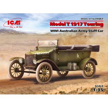 Модель T 1917 Туринг, Штабной автомобиль армии Австралии І МВ сборная модель