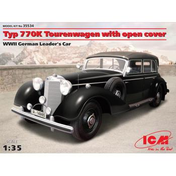 35534 ICM Typ 770K Tourenwagen с раскрытым тентом, Автомобиль Германского руководства ІІ МВ, 1/35