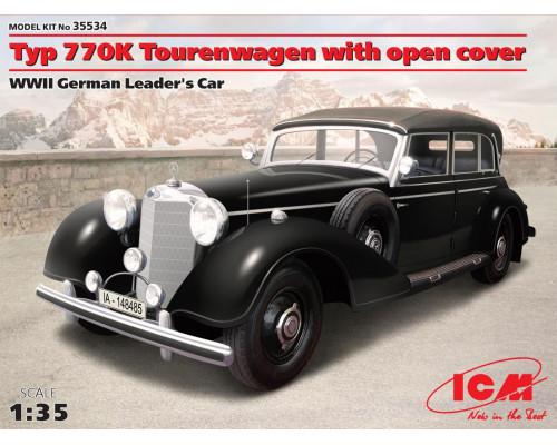 Typ 770K Tourenwagen с раскрытым тентом, Автомобиль Германского руководства ІІ МВ