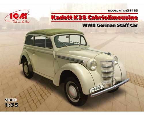 Кадет К38 кабриолимузин, Германский легковой автомобиль ІІ МВ