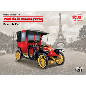 Марнское такси (1914 г.), Французский автомобиль сборная модель