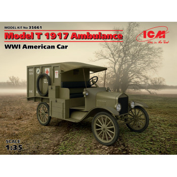 Model T 1917 санитарная, Американский автомобиль І МВ