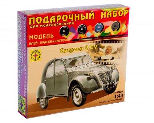 Автомобиль Citroen 2CV (1:43)