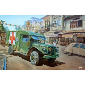 Rod811 M43 ¾ ton 4x4 Ambulance truck
