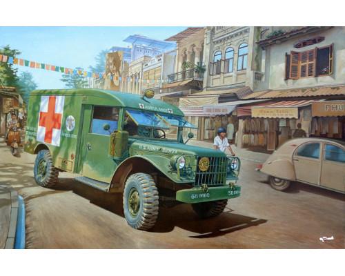 M43 ¾ ton 4x4 Ambulance truck