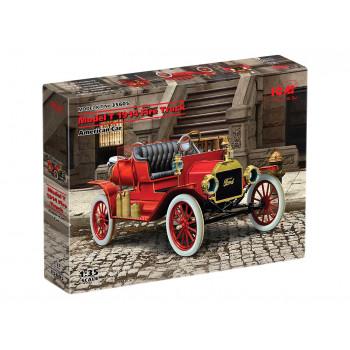 35605 ICM Model T 1914 Fire Truck, Американский пожарный автомобиль сборная модель