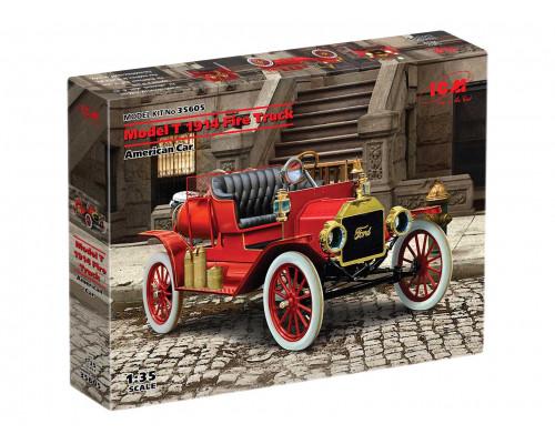 35605 ICM Model T 1914 Fire Truck, Американский пожарный автомобиль, 1/35