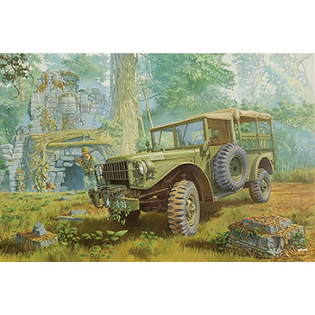 Rod806 M37 4х4 американский грузовой автомобиль