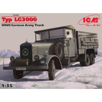 Typ LG3000, Германский армейский грузовик ІІ МВ сборная модель