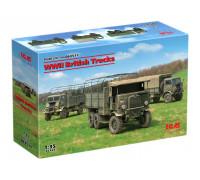 DS3511 Британские грузовые автомобили IIМВ ICM, 1/35