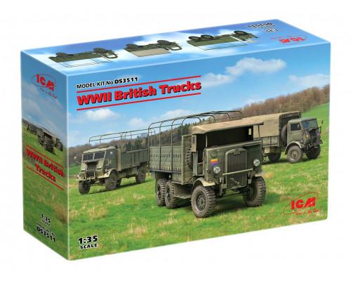DS3511 ICM Британские грузовые автомобили IIМВ, 1/35