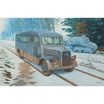 Автобус Blitz 3.6 – 47 Omnibus model W39 Ludewig- built, early сборная модель