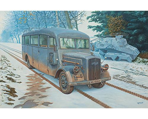 Автобус Blitz 3.6 – 47 Omnibus model W39 Ludewig- built, early