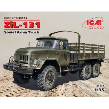 ЗиЛ-131, Советский армейский грузовой автомобиль сборная модель